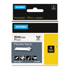 "Dymo 1734524 Rhino 1"" Flexible Nylon Industrial Label Tape"