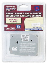 brother avery av2067 address Label Tape