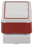 Brother red rubber stamp