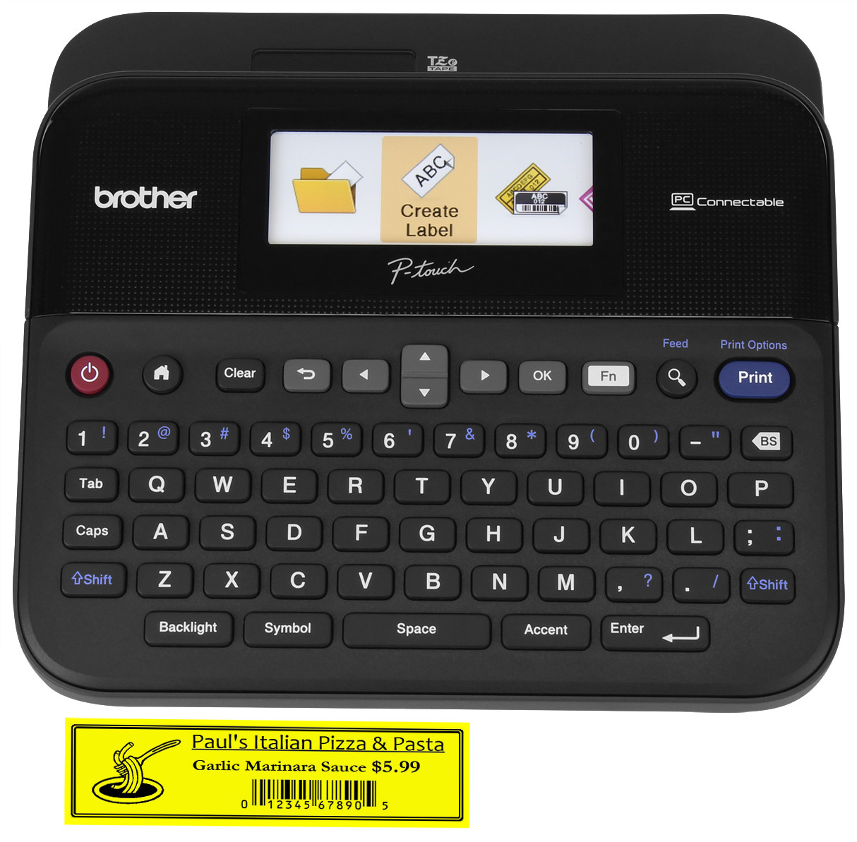brother p touch pt 1280 user manual