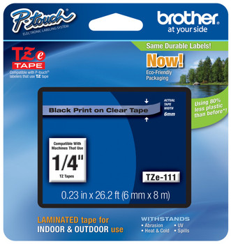Brother TZ-111 p-touch tape