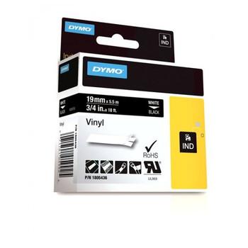 Dymo 1805436  IND 3/4 White Vinyl Labels