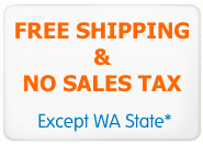 Free Shipping no Tax