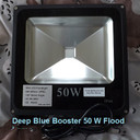Use this DEEP BLUE BOOSTER LED Flood Lamp Grow Lights to supply specific frequencies of light, 440nm & 450nm, designed to stimulate both A and B Blue Chlorophyll, which is very advantageous to promote healthy growth and more. Run these throughout your lit period to accelerate growth.