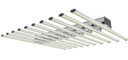A diagonal view of the V-Series 850 Watt modular LED grow light.