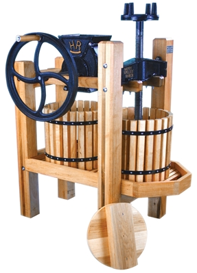 The American Harvester; considered one of the best cider presses on the market