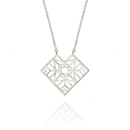 Bokeo Necklace - Sterling Silver