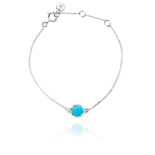 Dosha Bracelet - Silver - Turquoise