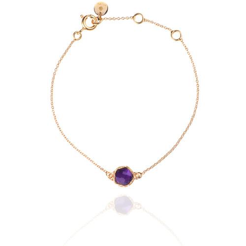 Dosha Bracelet - Rose Gold - Amethyst