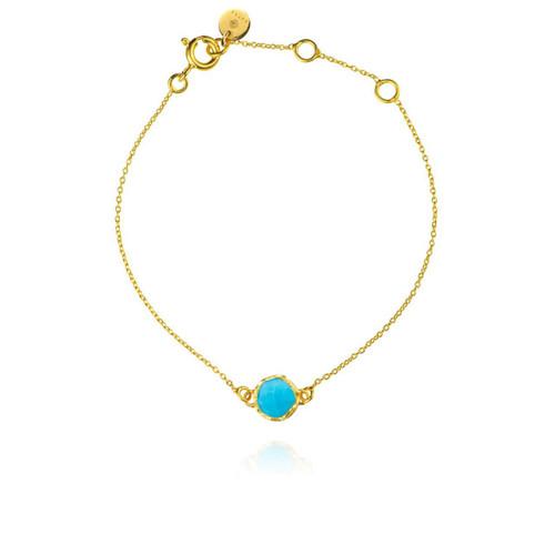 Dosha Bracelet - Gold - Turquoise