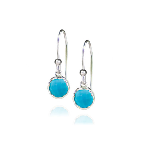Dosha Earrings - Silver - Turquoise