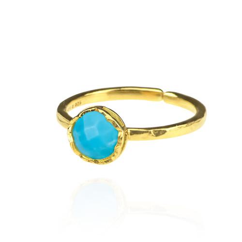 Dosha Ring - Gold - Turquoise