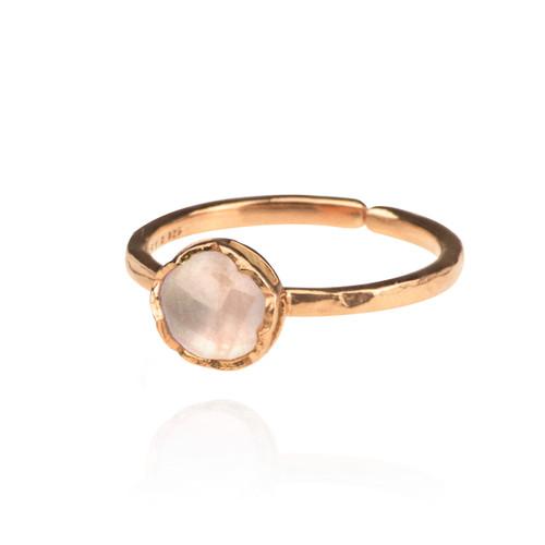 Dosha Ring - Rose Gold - Rose Quartz