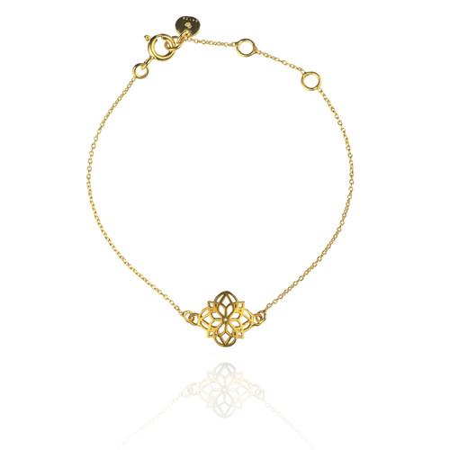 Mandala Bracelet - Gold