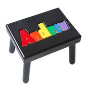 Digitally Cut Flip Style Puzzle Stool