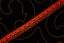 """3/4"""" Red Wholesale Lace Trim #lace-114"""