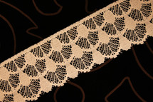 "2 1/4"" Peach Wholesale Lace Trim #lace-31"