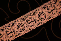 "2"" Dusty Rose Wholesale Lace Trim #lace-54"