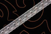 """1"""" Snow White Wholesale Lace Trim #lace-59"""