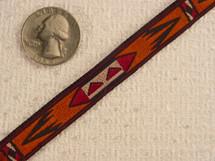Autumn Aztec Jacquard Ribbon #-WR-224