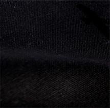 Organic Cotton Canvas Fabric Black