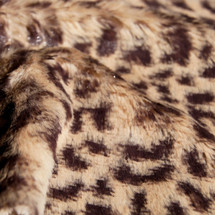 Baby Cheetah Animal Print Faux Fur Minky Fabric