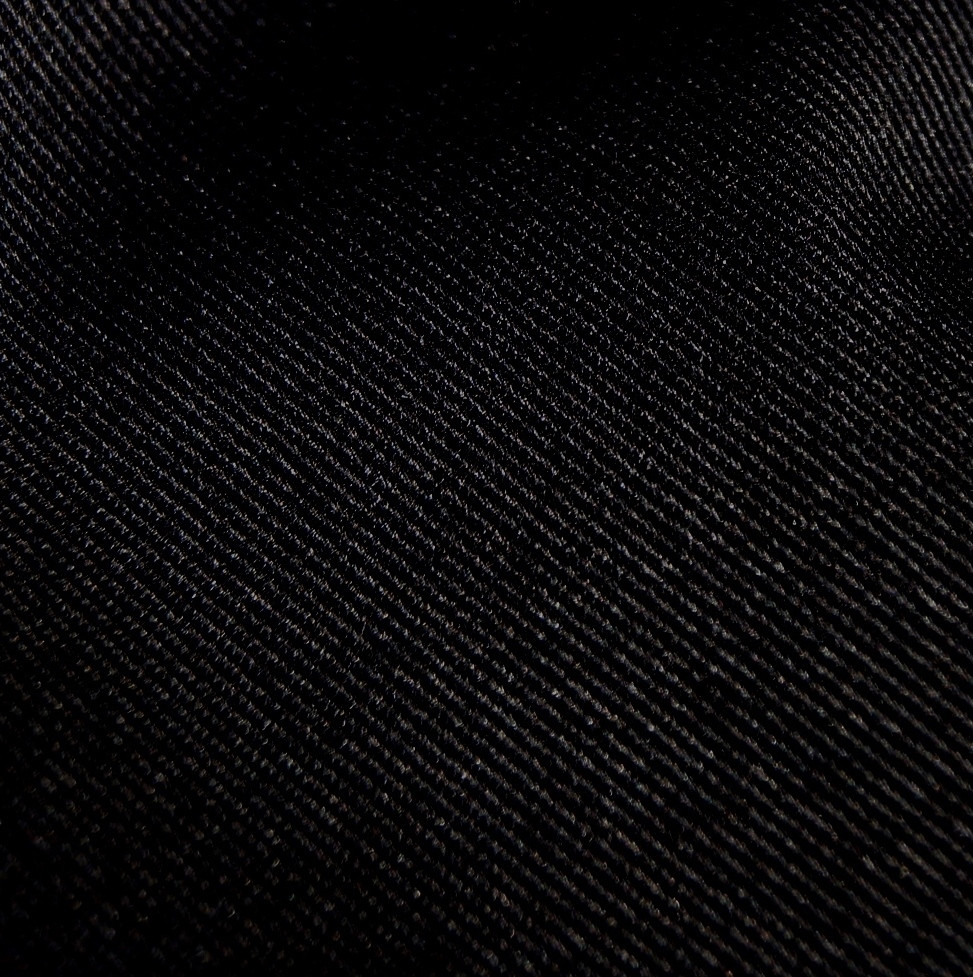 Organic Cotton Twill Fabric Black Wholesale Twill