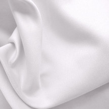 WHITE PEACHSKIN FABRIC