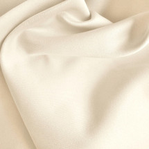 Cream Peachskin Fabric