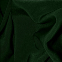 PEACHSKIN FABRIC FOREST GREEN