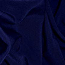 Wholesale Navy Peachskin Fabric bolt