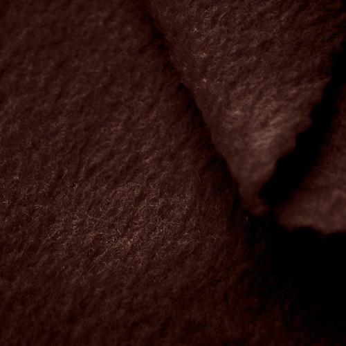 Espresso Brown Anti-Pill Yukon Fleece Fabric