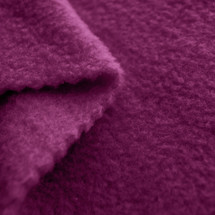 Mulberry Anti-Pill Yukon Fleece Fabric