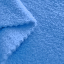 French Blue Anti-Pill Yukon Fleece Fabric