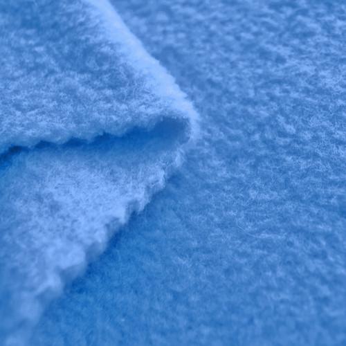 French Blue Anti-Pill Yukon Fleece Fabric