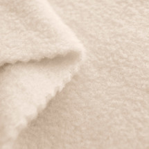 Ivory Anti-Pill Yukon Fleece Fabric