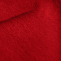 Crimson Red Anti-Pill Yukon Fleece Fabric
