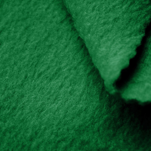Kelly Green Anti-Pill Yukon Fleece Fabric
