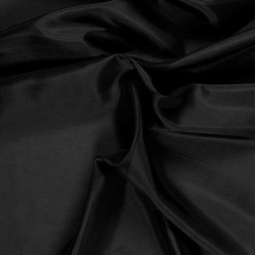 Black Pongee Lining Fabric