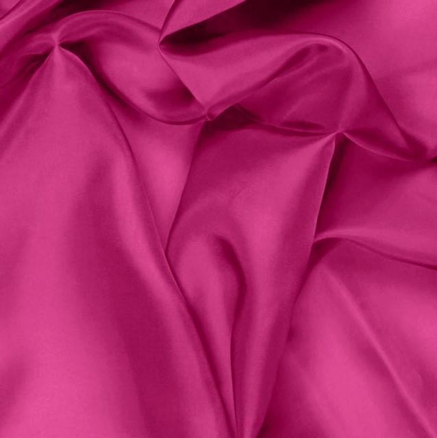 Fuchsia Pongee Lining Fabric - 60