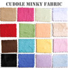 Cuddle Minky Solid Fabric