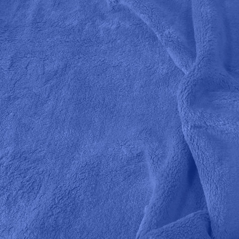 Solid Periwinkle Blue Minky Fabric