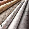 BASKET WEAVE FAUX LEATHER VINYL UPHOLSTERY FABRIC
