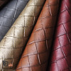 FAUX LEATHER BASKETWEAVE UPHOLSTERY FABRICS