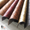 FAUX BASKETWEAVE LEATHER BULK FABRIC