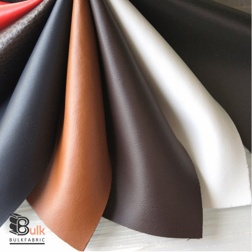 SOFT FAUX LEATHER FABRIC BULK