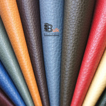WHOLESALE PEBBLED LEATHER VINYL UPHOLSTERY