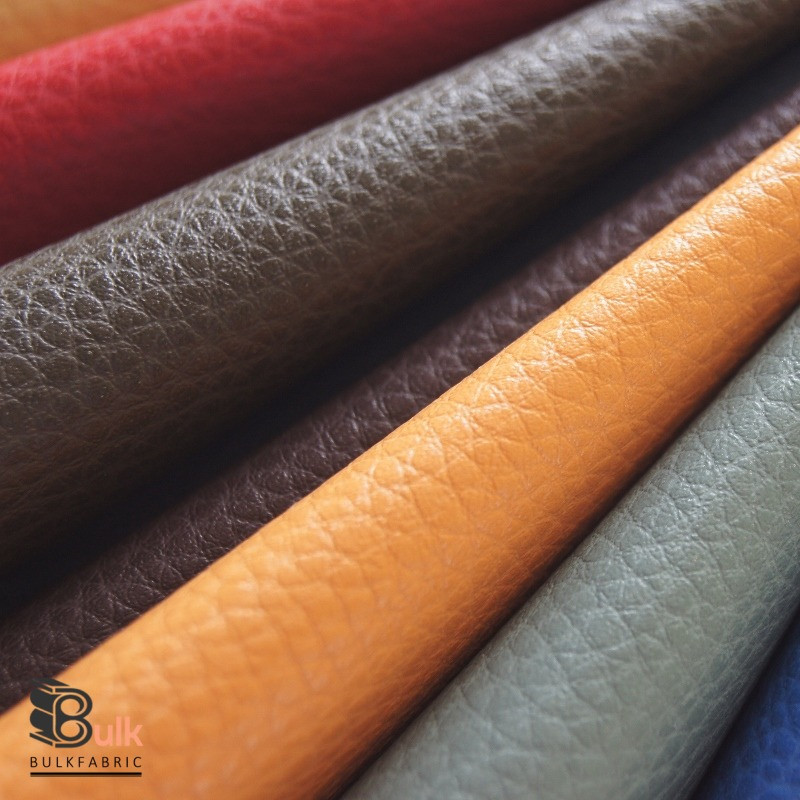 Wholesale 25 Yards Roll Pebbled Faux Leather Fabric Wholesale