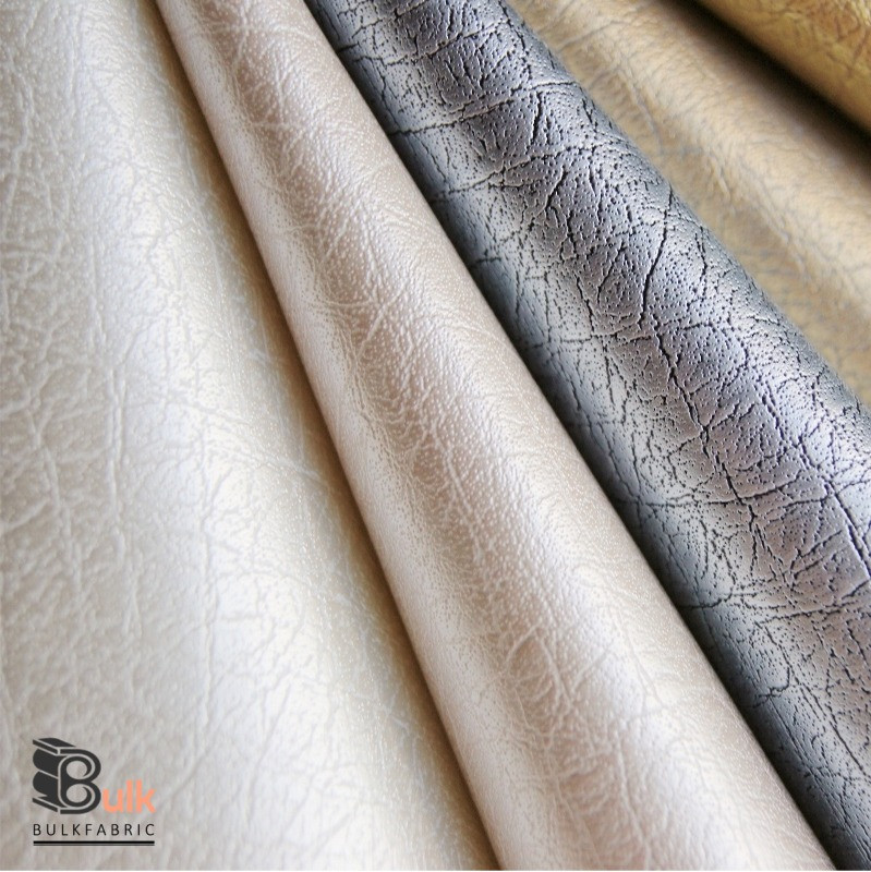 Wholesale 20 Yards Roll Smooth Faux Leather Fabric Lustrous