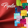 Poplin Fabric wholesale by the roll as low as $3 yd. Bulk Fabric offers 65 colors of best poplin, draping quality, wrinkle resistant, strong and durable tight plain weave 300 denier polyester poplin.